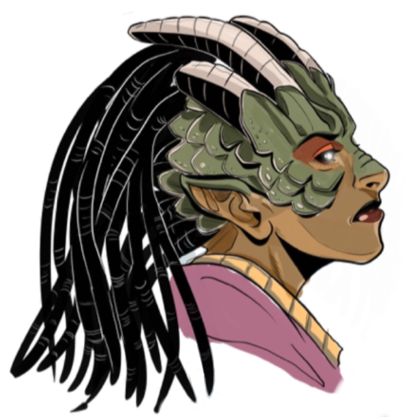 profile image of the kaiju queen