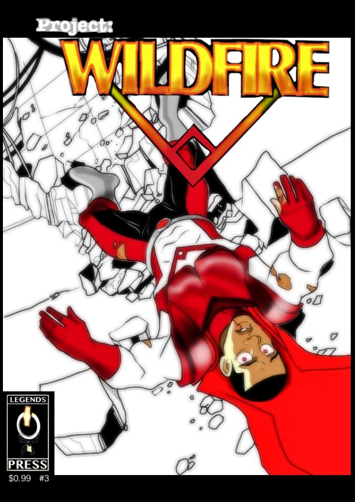 the cover for Project Wildfire #3