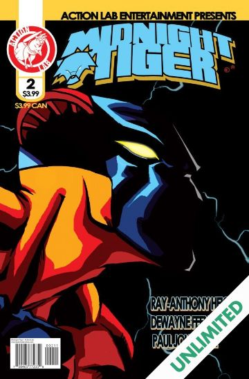 the cover for Midnight Tiger #2